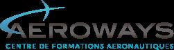 Logo aeroways formation de drone