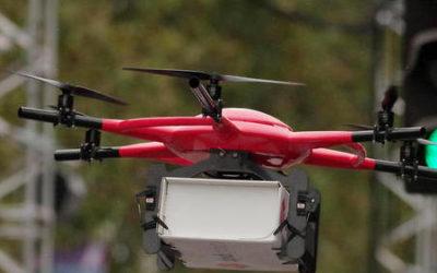 Les drones : futur atout dans le transport de sang ?