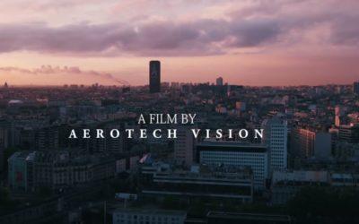 Paris, filmé par drone  Aerotech Vision.